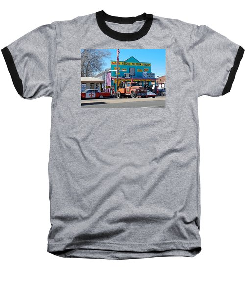 Seligman Sundries On Historic Route 66 Baseball T-Shirt