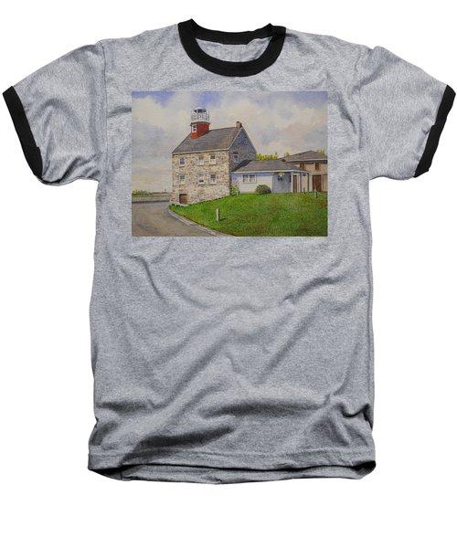 Selkirk Lighthouse Baseball T-Shirt