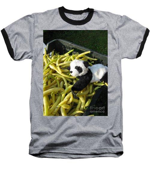 Baseball T-Shirt featuring the photograph Selling Beans by Ausra Huntington nee Paulauskaite
