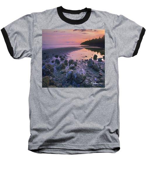 Semiahmoo Bay Baseball T-Shirt by Tim Fitzharris