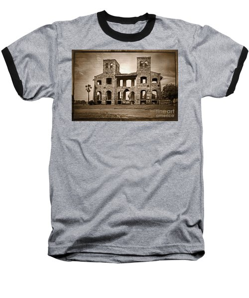 Seminary Ruins Baseball T-Shirt