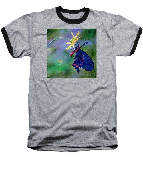 Semperi Swallowtail Butterfly Baseball T-Shirt