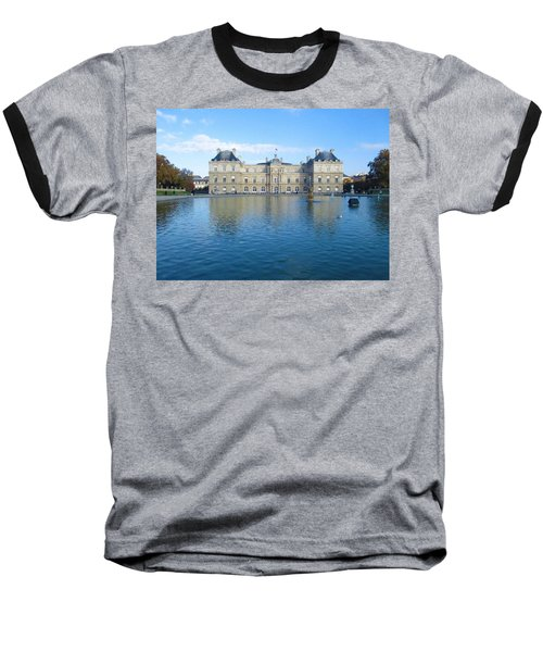 Baseball T-Shirt featuring the photograph Senat From Jardin Du Luxembourg by Christopher Kirby