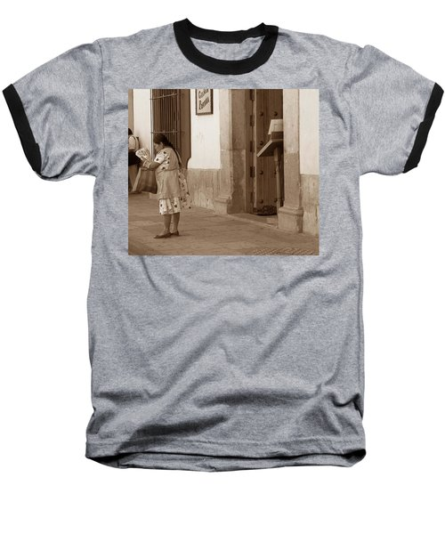 Baseball T-Shirt featuring the photograph Senora by Mary-Lee Sanders