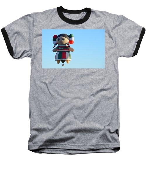 Baseball T-Shirt featuring the photograph Senorita by AJ Schibig