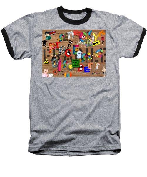 Sensory Processing Disorder Baseball T-Shirt