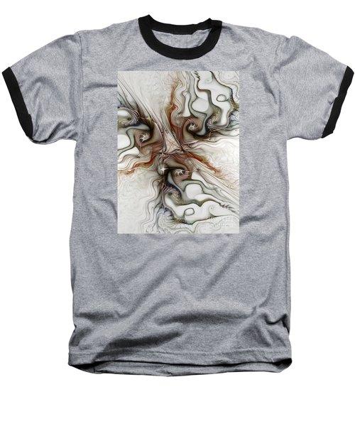 Baseball T-Shirt featuring the digital art Sensuality by Karin Kuhlmann