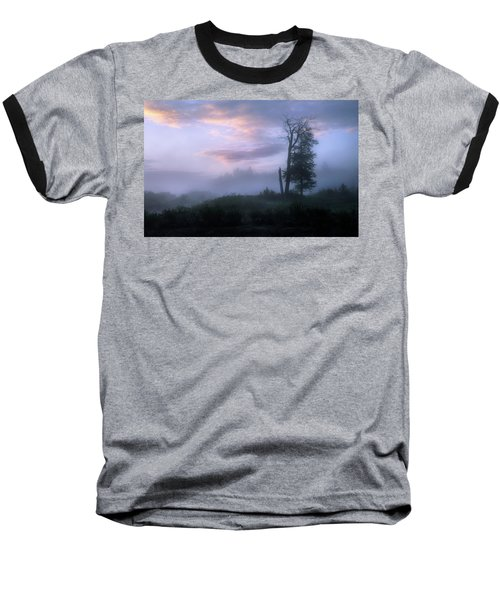 Sentinels In The Valley Baseball T-Shirt by Dan Jurak