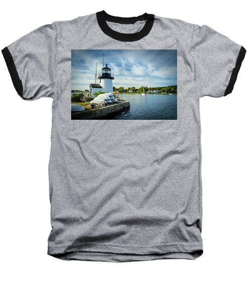 Sentinels Of The Sea Lighthouse Baseball T-Shirt