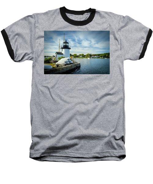 Sentinels Of The Sea Lighthouse Baseball T-Shirt
