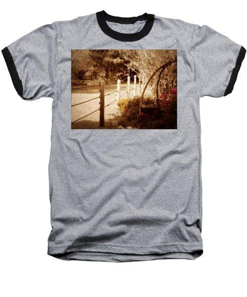 Sepia Garden Baseball T-Shirt