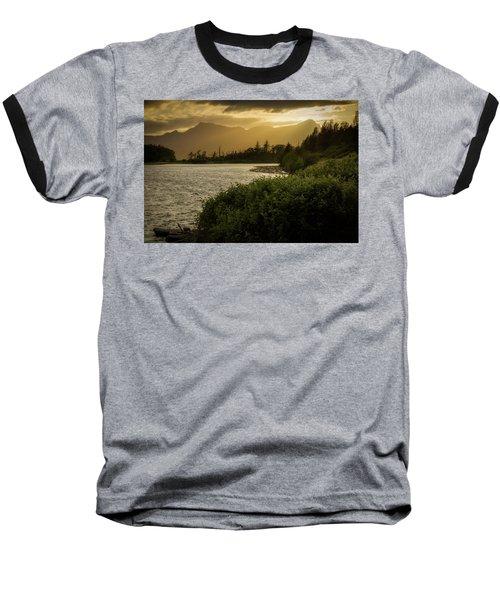 Sepia Sunset Baseball T-Shirt