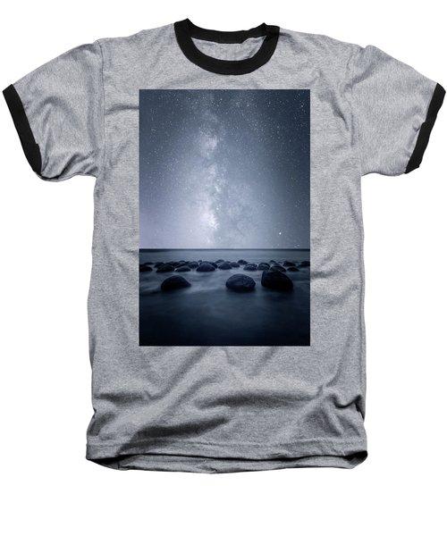 Septarian Concretions Baseball T-Shirt by Dustin LeFevre