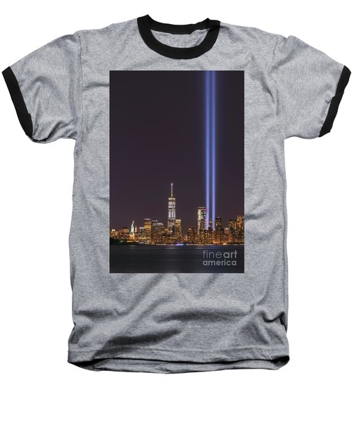 September 11th Memorial  Baseball T-Shirt