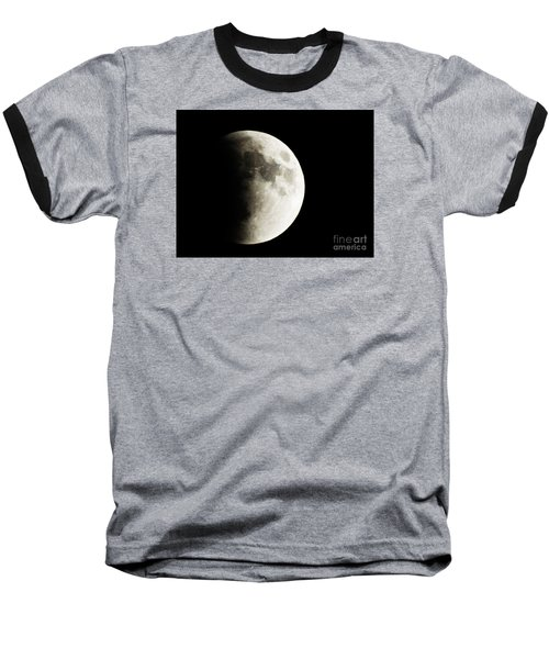 September 27,2015 Moon Eclipse  Baseball T-Shirt by J L Zarek