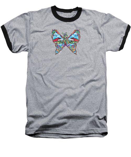 September Butterfly Baseball T-Shirt