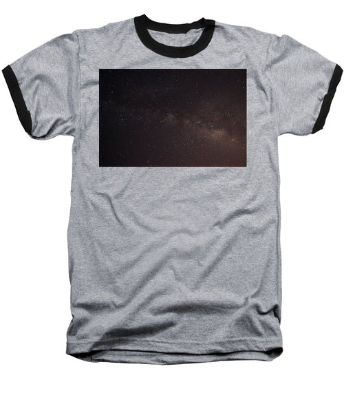 September Galaxy I Baseball T-Shirt by Carolina Liechtenstein