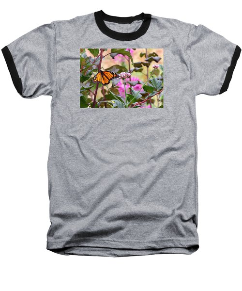 September Monarch Baseball T-Shirt