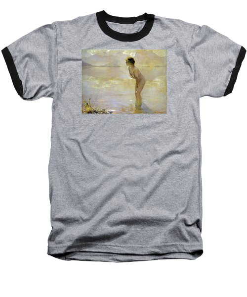 September Morn Baseball T-Shirt