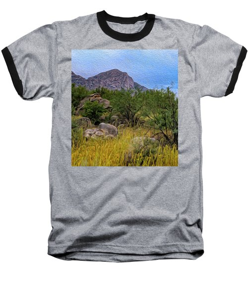 Baseball T-Shirt featuring the photograph September Oasis No.2 by Mark Myhaver