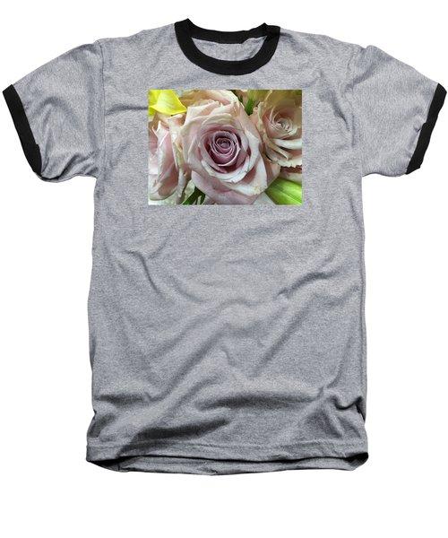 September Rose Baseball T-Shirt