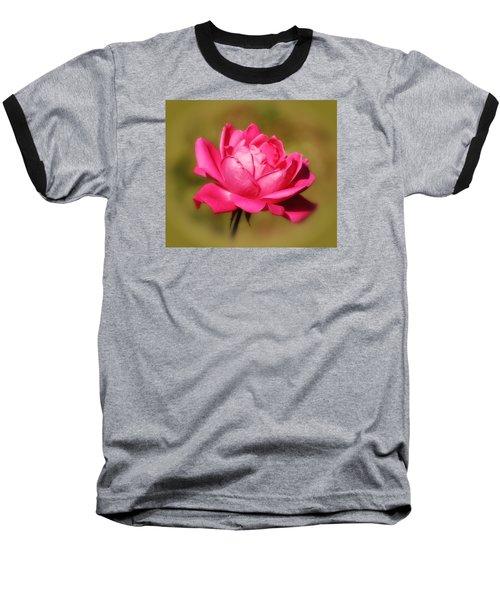 September Rose Up Close Baseball T-Shirt