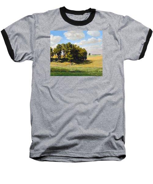 September Summer Baseball T-Shirt by Bruce Morrison