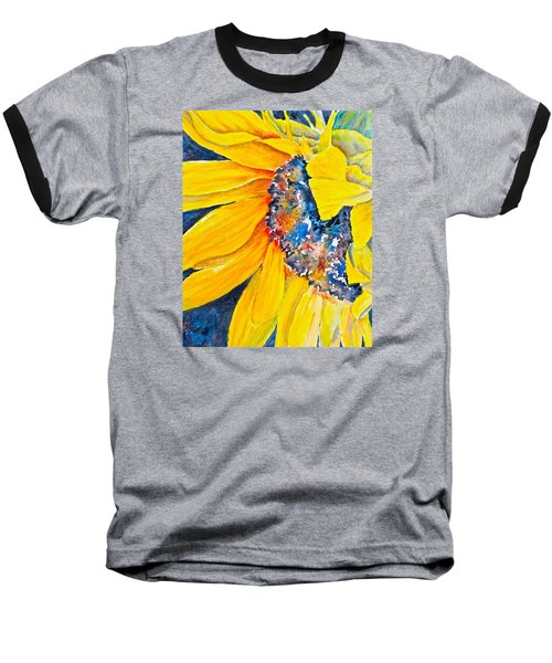 September Sunflower Baseball T-Shirt