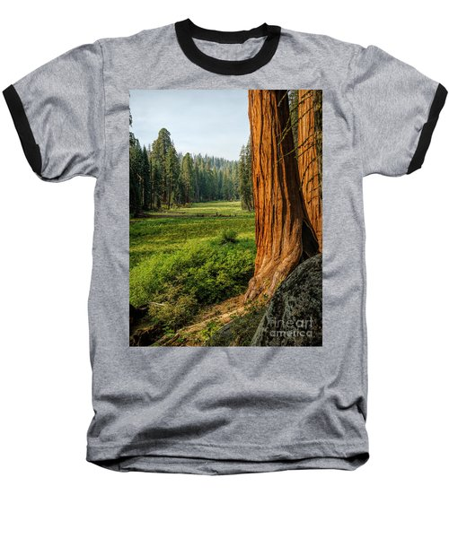 Sequoia Np Crescent Meadows Baseball T-Shirt
