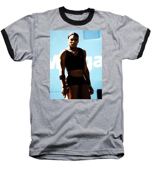 Serena Williams Match Point IIi Baseball T-Shirt