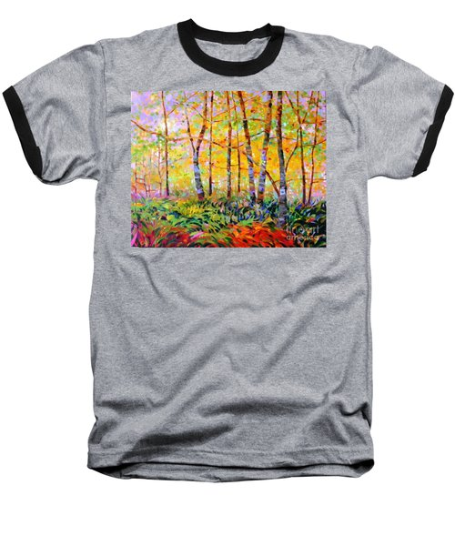 Serenade Of Forest Baseball T-Shirt