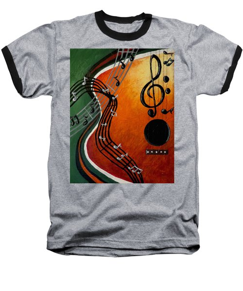 Serenade Baseball T-Shirt by Teresa Wing