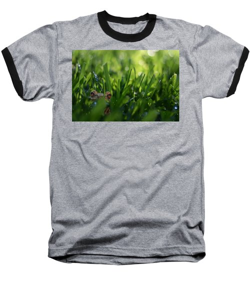 Baseball T-Shirt featuring the photograph Serendipity by Laura Fasulo