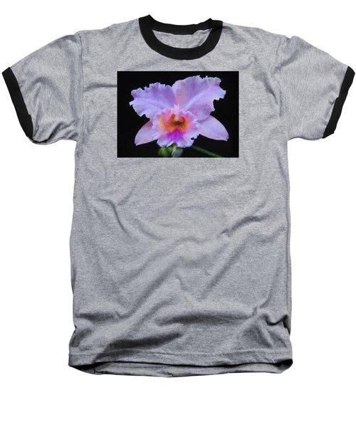 Serendipity Orchid Baseball T-Shirt