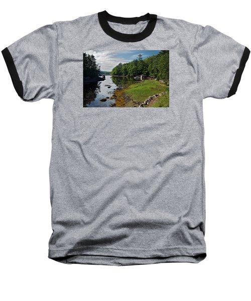 Serene Backyard Baseball T-Shirt