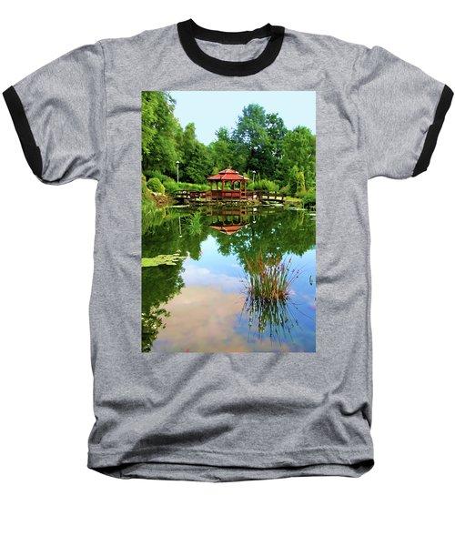 Serene Garden Baseball T-Shirt