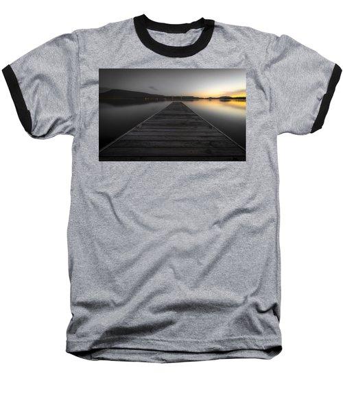 Serene Lake 2 Baseball T-Shirt