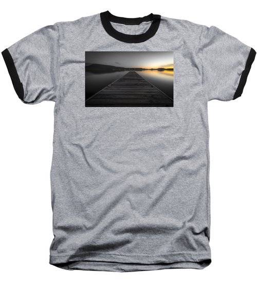 Serene Lake 2 Baseball T-Shirt