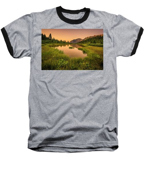 Serene Lake Baseball T-Shirt