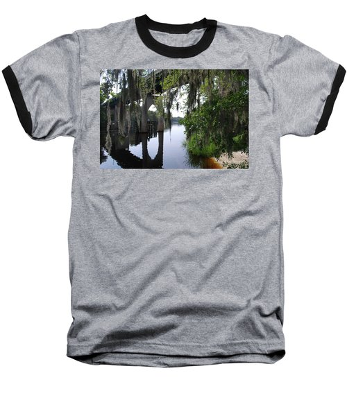 Serene River Baseball T-Shirt