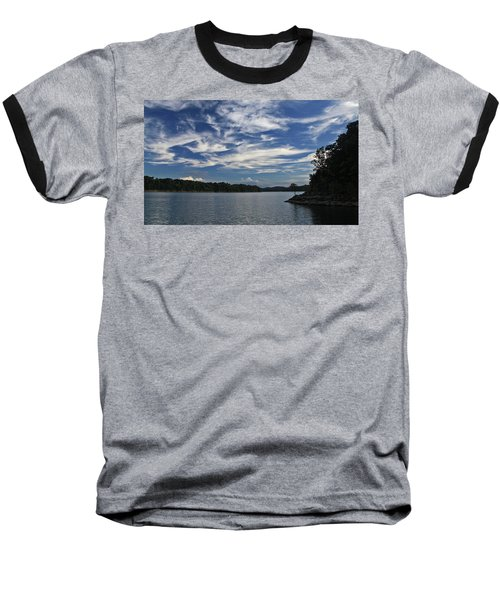 Baseball T-Shirt featuring the photograph Serene Skies by Gary Kaylor