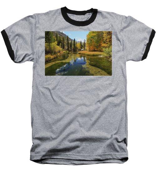 Serene Stream Baseball T-Shirt