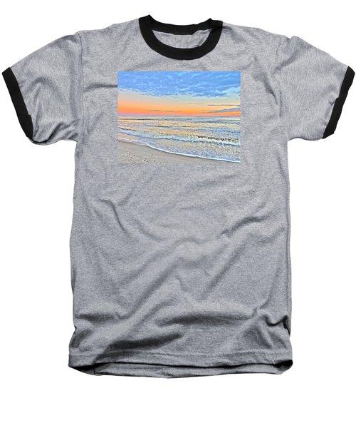 Serene Sunset Baseball T-Shirt by Shelia Kempf