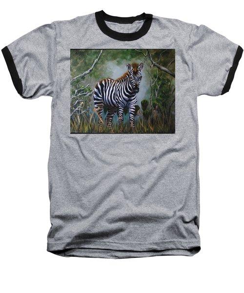 Serengeti Zebra Baseball T-Shirt
