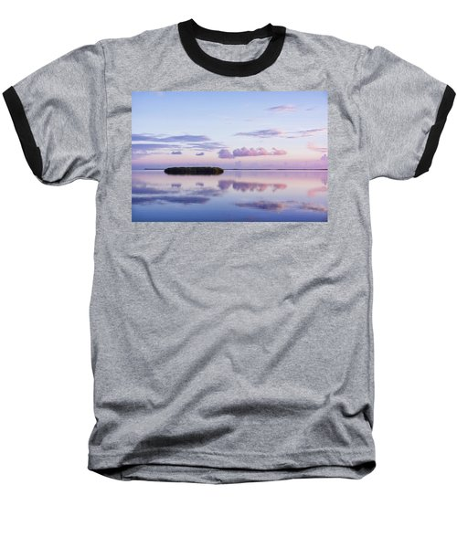 Serenity At Sunrise Baseball T-Shirt
