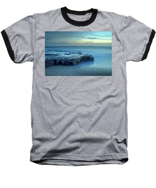 Serenity At The Beach Baseball T-Shirt