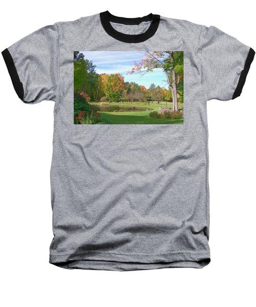 Baseball T-Shirt featuring the digital art Serenity by Barbara S Nickerson