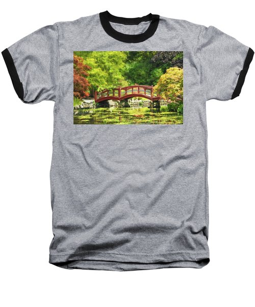 Serenity Bridge II Baseball T-Shirt