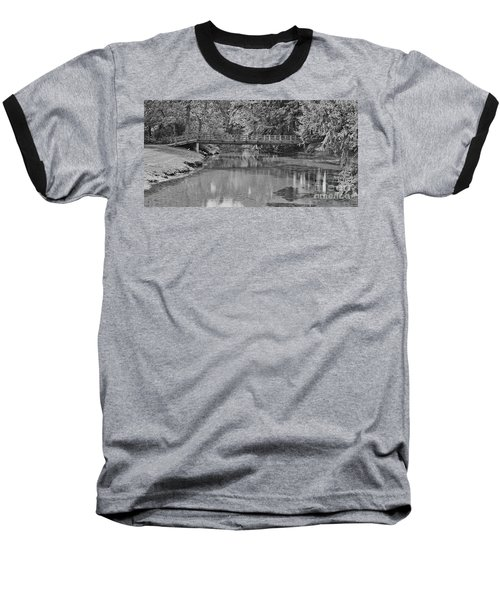 Serenity B And W Baseball T-Shirt by Ansel Price