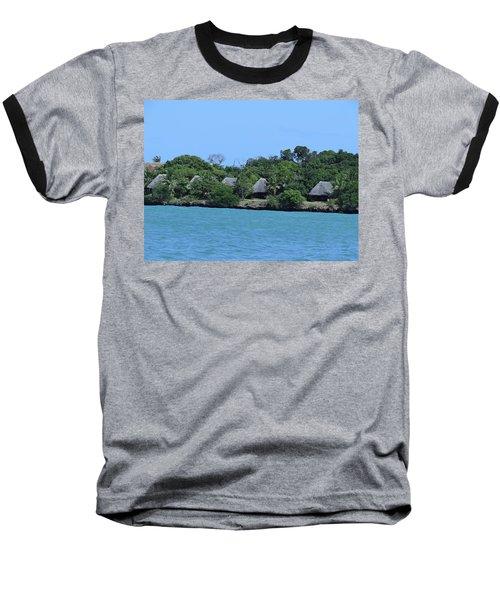 Serenity - Chale Island Kenya Africa Baseball T-Shirt